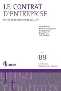 André Delvaux et Bernard de Cocqueau - Le contrat d'entreprise - Chronique de jurisprudence 2001-2011.
