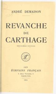 André Demaison - Revanche de Carthage.