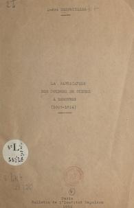 André Desfeuilles - La fabrication des poudres de guerre à Essonnes - 1805-1814.
