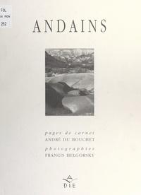 André Du Bouchet et Francis Helgorsky - Andains.