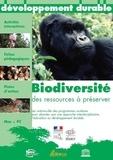 André Duco - Biodiversité : des ressources à préserver. 1 CD audio
