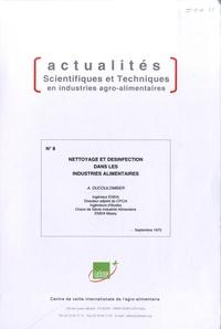 Deedr.fr Nettoyage et désinfection dans les industries alimentaires Image