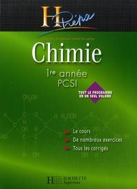 André Durupthy et Jacques Estienne - Chimie 1e année PCSI.