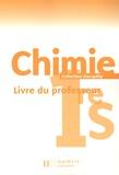 André Durupthy et Michel Barde - Chimie 1e S - Livre du professeur.