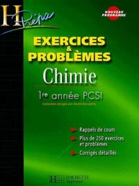 André Durupthy et Odile Durupthy - Chimie 1ère année PCSI Exercices et Problèmes.