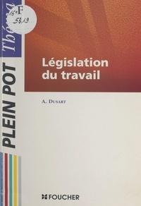 André Dusart - Législation du travail.