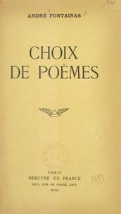 André Fontainas - Choix de poèmes.