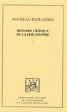 André-François Boureau-Deslandes - Histoire critique de la philosophie - Coffret en 2 volumes.