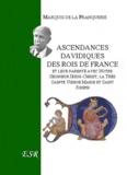 André Franquerie - Ascendances davidiques des rois de France.