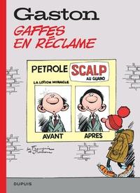 André Franquin - Gaston hors-série Tome 7 : Gaffes en réclame.