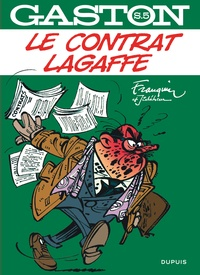 André Franquin et  Jidéhem - Gaston Sélection 5 : Le contrat Lagaffe.