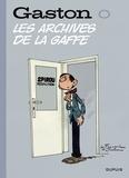 André Franquin - Gaston - tome 0 - Les archives de la gaffe.