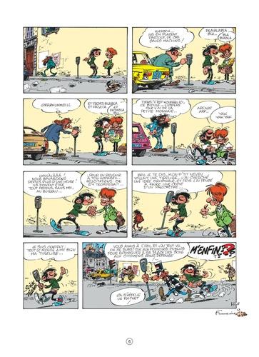 Gaston Tome 19 La saga des gaffes