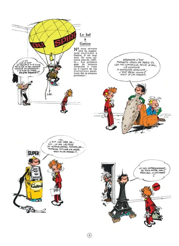 Gaston Tome 5 Gaffes à gogo