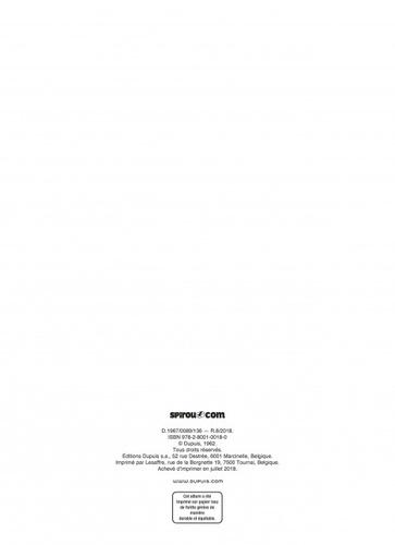 Les Aventures de Spirou et Fantasio Tome 16 L'ombre du Z