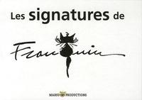 André Franquin - Les signatures de Franquin.