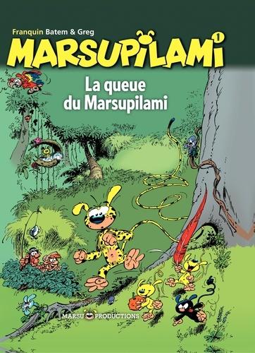 André Franquin et  Greg - Marsupilami Tome 1 : La queue du Marsupilami.