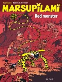 André Franquin et  Batem - Marsupilami Tome 21 : Red monster.