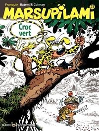 André Franquin et  Batem - Marsupilami Tome 23 : Croc vert.