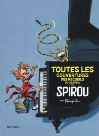André Franquin - Toutes les couvertures des recueils du Journal de Spirou par Franquin.