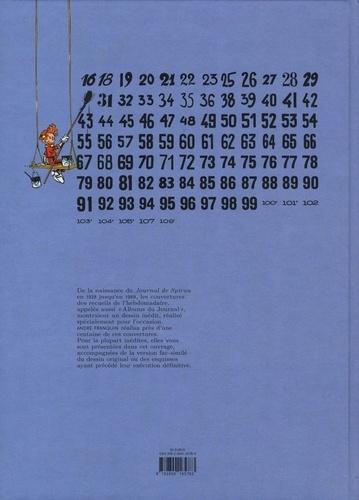 Toutes les couvertures des recueils du Journal de Spirou par Franquin
