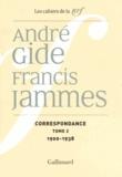 André Gide et Francis Jammes - Correspondance - Tome 2, 1900-1938.