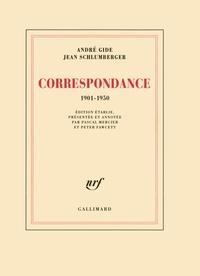 André Gide et Jean Schlumberger - Correspondance - 1901-1950.