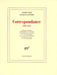 André Gide et Jacques Rivière - Correspondance - 1909-1925.
