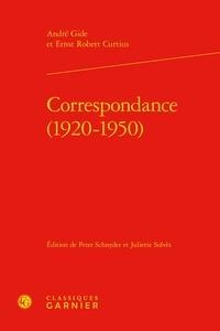 André Gide et Ernst-Robert Curtius - Correspondance - (1920-1950).