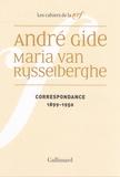 André Gide et Maria Van Rysselberghe - Correspondances - 1899-1950.