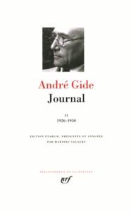 André Gide - JOURNAL. - Tome 2, 1926-1950.