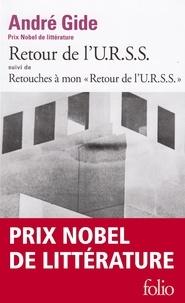 André Gide - Retour de l'URSS - Suivi de Retouches à mon Retour de l'URSS.
