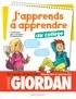 André Giordan et Sonia Warnier - J'apprends à apprendre - au collège - Conforme aux nouveaux programmes.