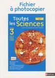 André Giordan et Maryline Coquidé - Toutes les Sciences CE2-CM1-CM2 - Fichier à photocopier, Programme 2008.
