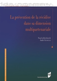 André Giudicelli - La prévention de la récidive dans sa dimension multipartenariale.