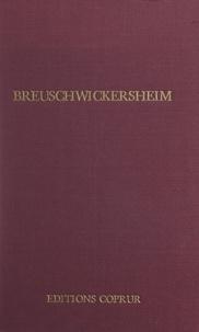 André Gueslin et Robert Koehl - Breuschwickersheim.