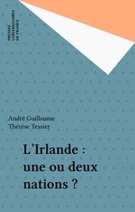 André Guillaume - L'Irlande - Une ou deux nations ?.