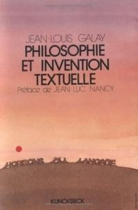 André Jacob - Philosophie et invention textuelle - Essai sur la poétique d'un texte kantien.