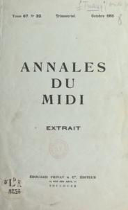 André-Jean Tudesq - L'élection du président de la République en 1848 dans l'Hérault.
