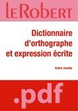 André Jouette - Dictionnaire d'orthographe et d'expression écrite.