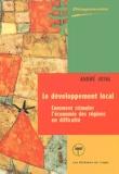 André Joyal - Le développement local : comment stimuler l'économie des régions en dificulté.