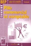 André Kuchinski et Sylviane Matusiak - Pôle commercial et comptable Tle BEP secrétariat/comptabilité - Corrigé.