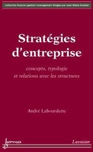 André Labourdette - Stratégies d'entreprise.