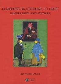 André Laingui - Curiosités de l'histoire du droit - Grandes dates, faits notables.