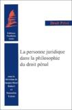 André Laingui - La personne juridique dans la philosophie du droit pénal.