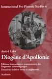 André Laks - Diogène d'Apollonie.