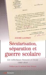 Deedr.fr Sécularisation, séparation et guerre scolaire - Les catholiques français et l'école (1901-1914) Image