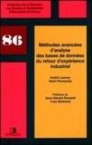André Lannoy et Henri Procaccia - METHODES AVANCEES D'ANALYSE DES BASES DE DONNEES DU RETOUR D'EXPERIENCE INDUSTRIEL.