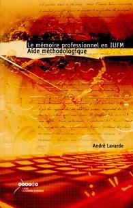 Deedr.fr Le mémoire professionnel en IUFM - Aide méthodologique Image