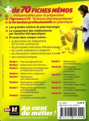 Pharmacologie En Fiches Memos Preparateur En De Andre Le Texier Poche Livre Decitre